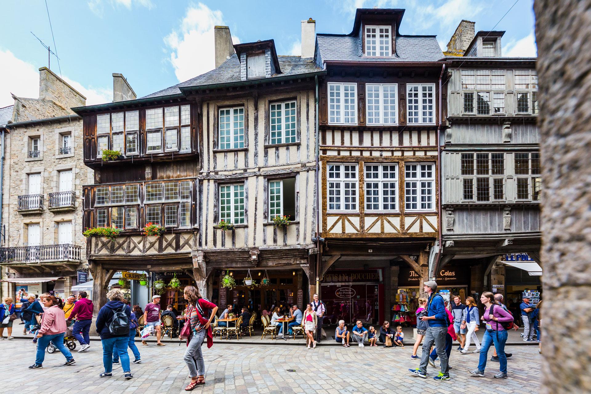 Dinan, site incontournable pour voyage en Groupe en Côtes d'Armor