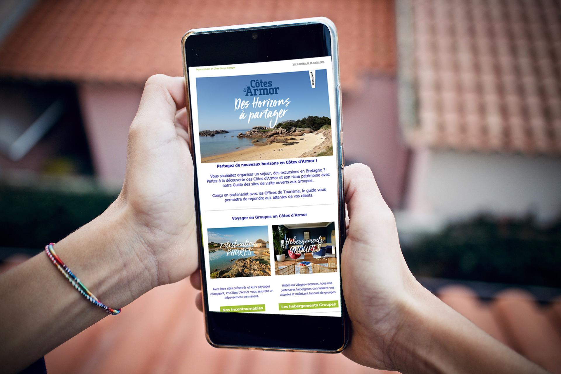 Newletter Tourisme de Groupe Côtes d'Armor