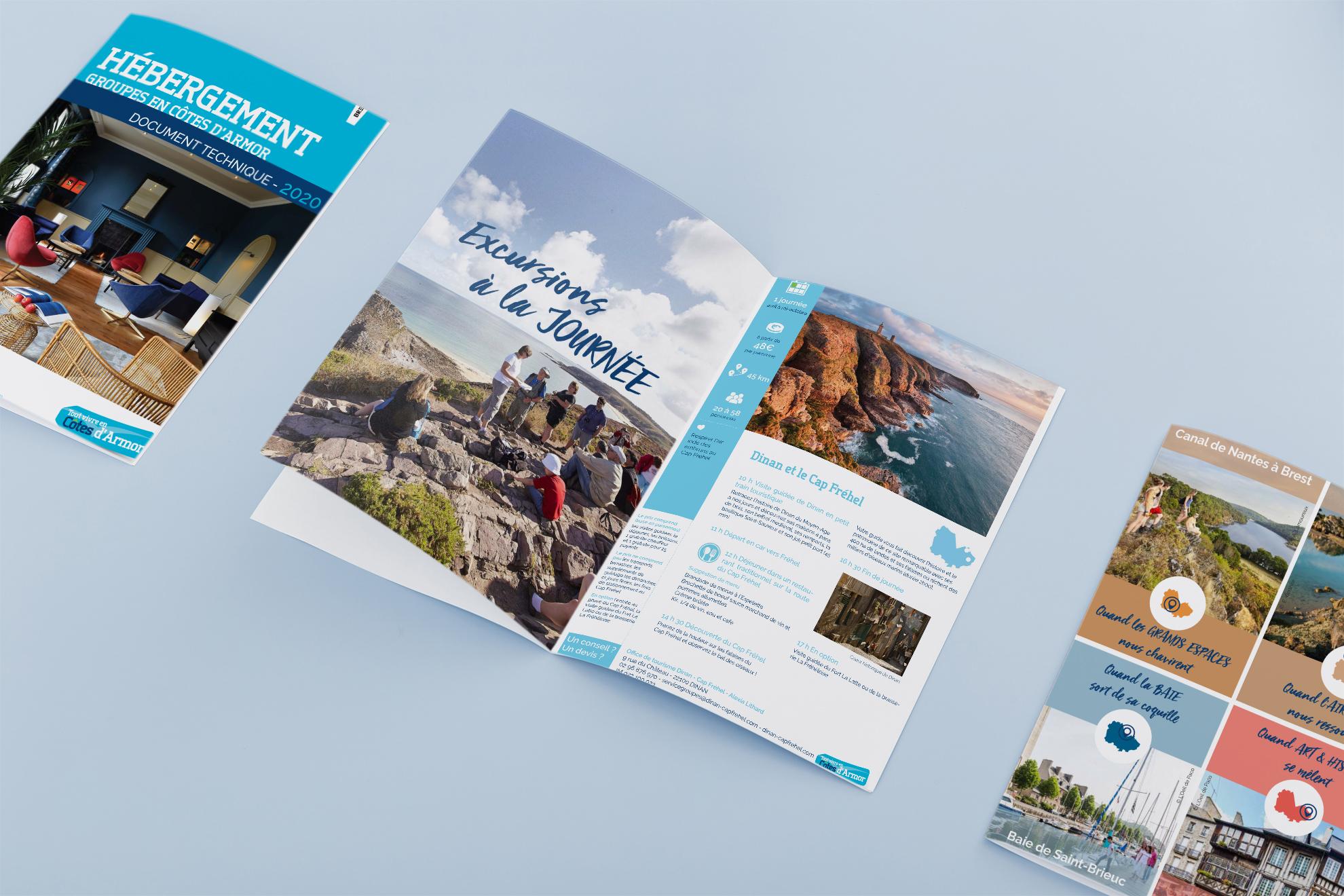 Brochures Cotes d'Armor Tourisme de Groupes
